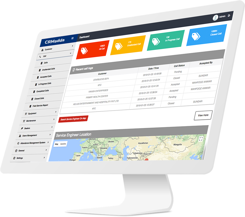 Builds Your Business With Mobile App & CRM